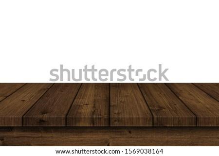 vintage table old wood texture #1569038164