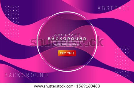 Dynamic colorful gradient textured style background design. Modern abstract vector background. #1569160483