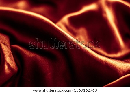 Fashion brand, elegant fabric and luxe beauty concept - Luxury dark bronze silk background texture, holiday glamour abstract backdrop #1569162763