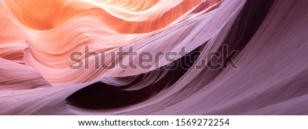 Canyon Antelope. Grand Canyon, Slot Canyon - Abstract Background collection Royalty-Free Stock Photo #1569272254