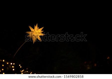 christmas lights. Stars and lights in Edinburgh #1569802858