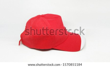 Colored Hat For Design Mock up Purpose in Clean White Isolated Background #1570851184