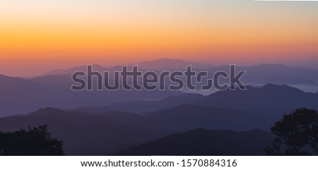 Morning light, sunrise on the mountain - morning nature Morning light, sunrise on the mountain - morning nature #1570884316