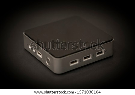 a mini PC with black background #1571030104
