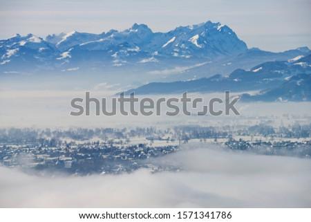 View to Santis Mountain, Appenzell Alps, Switzerland #1571341786