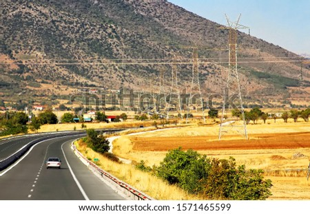 Highway at Greece. Highways in Greece are generally organized so that the odd-numbered highways are of north-south alignment and even numbered highways are of east-west alignment. #1571465599