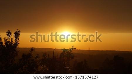 A sunset after a long summer day #1571574127