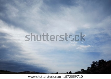 A sky full of clouds of various shapes and fun shapes. #1572059710