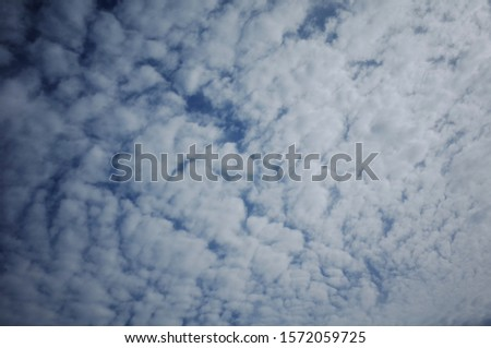 A sky full of clouds of various shapes and fun shapes. #1572059725