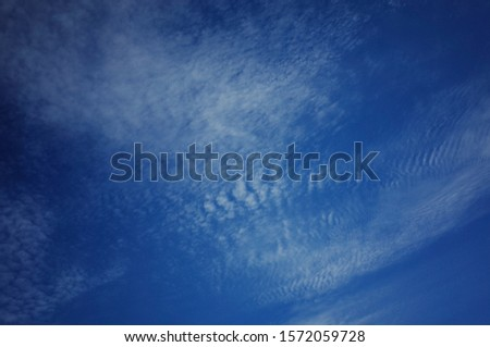 A sky full of clouds of various shapes and fun shapes. #1572059728