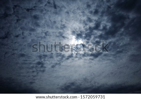 A sky full of clouds of various shapes and fun shapes. #1572059731