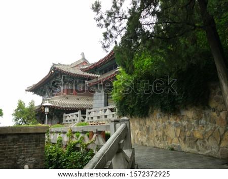 China Henan Luoyang  Longmen Grottoes Photographed in July 2015 #1572372925
