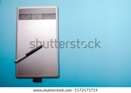 Graphic tablet with pen for illustrators and designers #1572575719