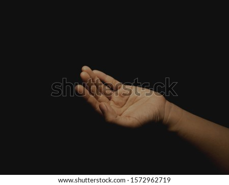 Praying hand : pray for hope and faith #1572962719