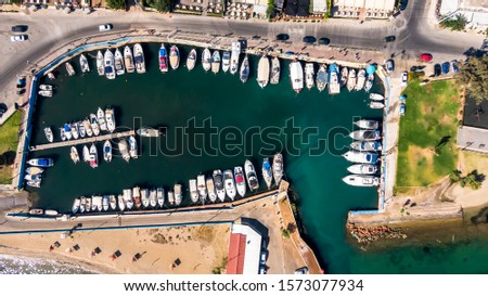 Top dowh photo from Neas Makris port #1573077934