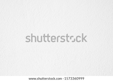 White cement or concrete wall texture for background, Empty space. #1573360999