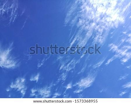 cirrus cloudscape with bluesky background #1573368955