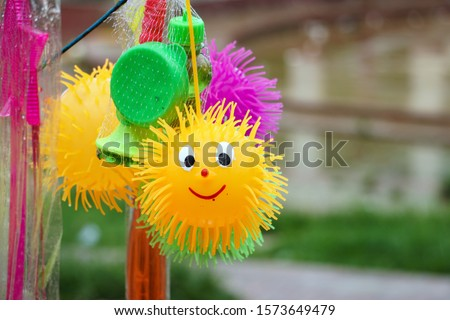 One attractive feature of these toy titles is that they are generally of brilliant colors. Beautiful baby toys made of rubber. The picture will come alive.