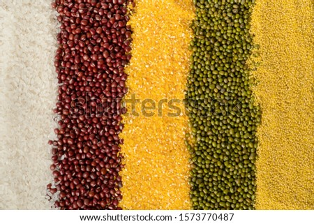 Healthy nutrition whole grains coarse grains #1573770487