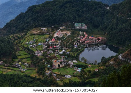 Khurpatal Lake - Peaceful Getaway  The emerald blue-green lake of Khurpatal is cradled in the Nainital district of Uttarakhand.  #1573834327