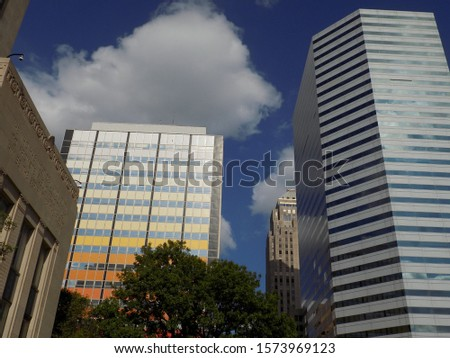Downtown Oklahoma City or OKC Skyline