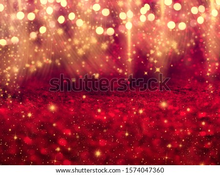 abstract background christmas lights garland #1574047360