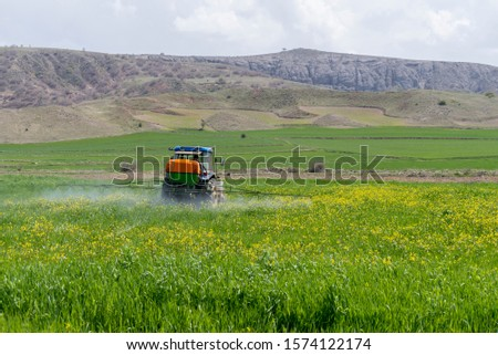 modern agricultural practices, agricultural spraying #1574122174