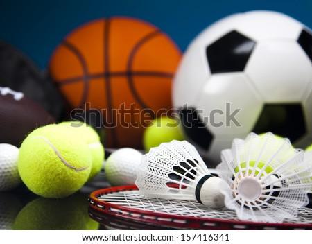 Sports Equipment Royalty-Free Stock Photo #157416341