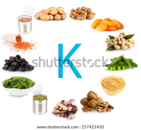 Products containing potassium #157421450
