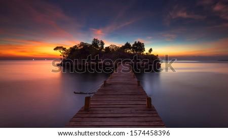 Sunset at Selayar Island, South Celebes #1574458396