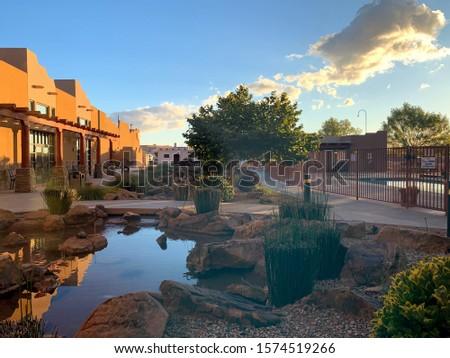Sunrise at an inn in Arizona #1574519266