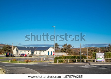 TEELIN, COUNTY DONEGAL / IRELAND - NOVEMBER 29 2019 : Sliabh Liag distillery is producing in County Donegal. #1575796285