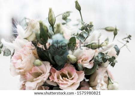 The bride's bouquet. Bouquet of flowers. Bouquet of roses. #1575980821