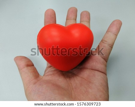 A hand of loved. A heart for love. Feeling loveful at Johor Bahru.  #1576309723
