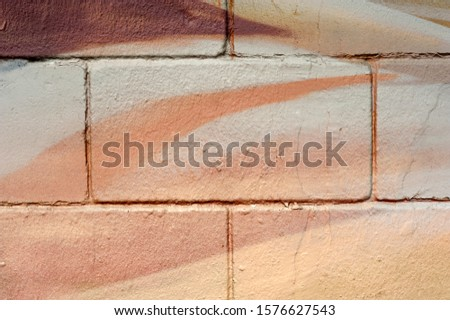 texture with brown and white hues on wall #1576627543