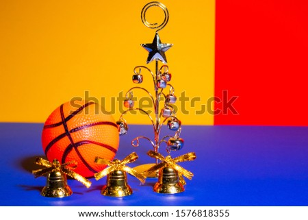 basketball and new year. soprt and christmas #1576818355