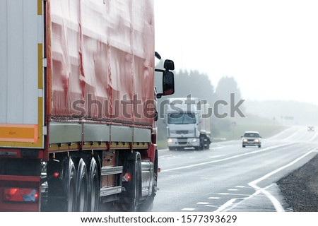 Trucks road logistic sky traffic #1577393629