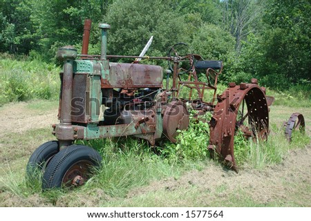 Old Tractor #1577564