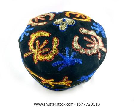 Uzbekistan hat suzani Ethnic  man skullcap #1577720113