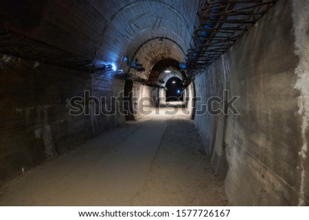 underground tunnel complex beneath the castle accessible to the public on guided tours                                #1577726167