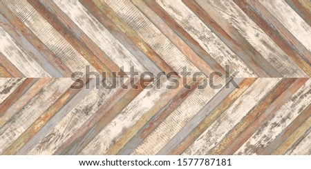 Seamless old colorful wood parquet texture, chevron, timder background