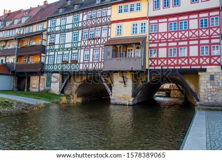 View View of the Krämerbrücke Erfurt #1578389065