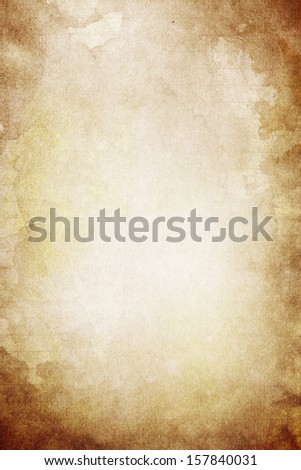 The paper background : Use for texture, grunge and vintage design and have space for text and wording #157840031