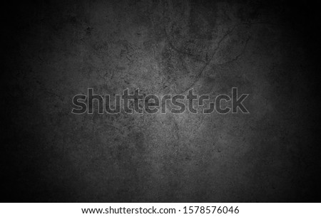 Old wall texture cement dark black gray  background abstract grey color design are light with white gradient background. Royalty-Free Stock Photo #1578576046
