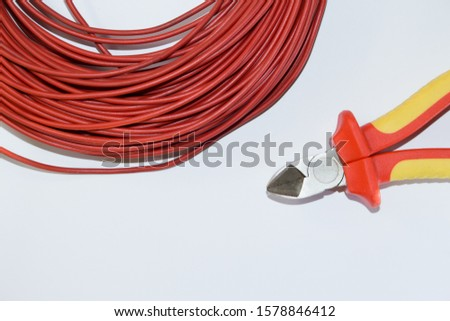 the wire and wire or cable cutters #1578846412