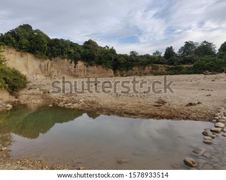 A water body within the Jim Corbett National Park in Uttarakhand, India #1578933514