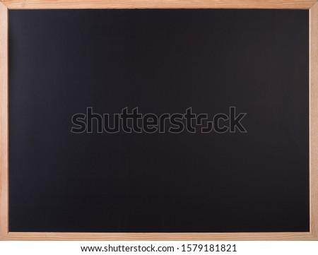 Chalk Blackboard Blackboard with wooden frame #1579181821