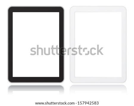 tablet computer icon black and white not similar to ipade #157942583