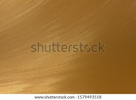 metallic  rough and noise  foil texture polished glossy abstract background with copy space, metal gradient template for gold border, frame, ribbon design  #1579493518
