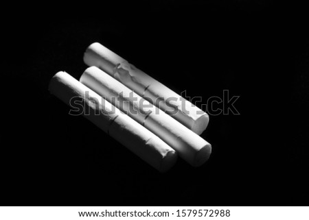 Cigarettes is a thin cylinder of finely cut tobacco rolled in paper for smoking #1579572988